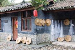 Chinese farmhouse Stock Photo