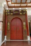 Chinese Fascia Panel door Stock Photo