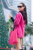 Chinese fashion woman Stock Image