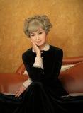 chinese fashioned old woman Στοκ Φωτογραφίες