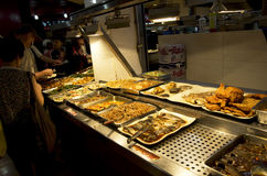 Chinese fast food restaurant Taiwan Royalty Free Stock Image