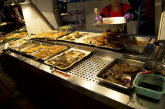 Chinese fast food restaurant Taiwan Royalty Free Stock Photos