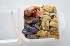 Chinese fast food Royalty Free Stock Photography