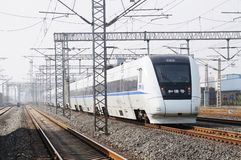 Chinese fast train Royalty Free Stock Photos