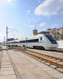Chinese fast train Stock Images
