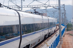 Chinese fast train Stock Photo
