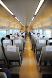 Chinese fast train interior Stock Photography