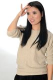 Chinese female model Stock Images