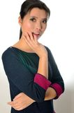 Chinese female model Stock Photography