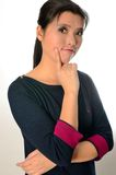 Chinese female model Royalty Free Stock Image