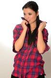 Chinese female model Stock Photo