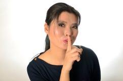 Chinese female model Royalty Free Stock Photo
