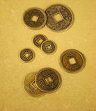 Chinese feng shui coins royalty free stock image