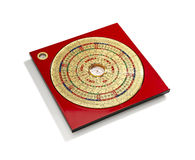 Chinese Feng Shui compass Royalty Free Stock Images