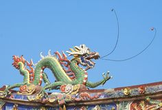 Chinese feng shui dragon Stock Photography