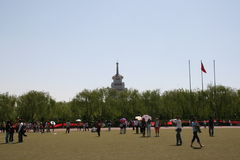 Chinese Festival. This is an annual university festival with booths for students to display their crafts and projects. Also students compete against each other Royalty Free Stock Photo