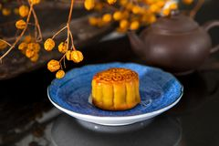 Chinese, festival, reunion, Mid-Autumn Festival, moon appreciation, moon cake,. Chinese festival, the family reunited for the Mid-Autumn Festival, enjoying moon royalty free stock photos