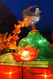 Chinese festival lantern. The festival lanterns are exhibited  during the Chinese New Year(Spring Festival) and Lantern Festival Stock Photos