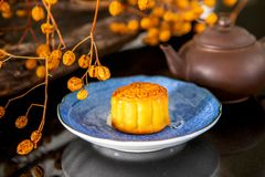 Chinese, festival, reunion, Mid-Autumn Festival, moon appreciation, moon cake,. Chinese festival, the family reunited for the Mid-Autumn Festival, enjoying moon royalty free stock image