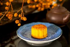 Chinese, festival, reunion, Mid-Autumn Festival, moon appreciation, moon cake,. Chinese festival, the family reunited for the Mid-Autumn Festival, enjoying moon stock image