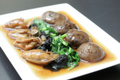 Chinese festive edible fungus delicacy Royalty Free Stock Images