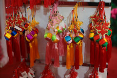 Chinese festive season ornaments. Stock Images