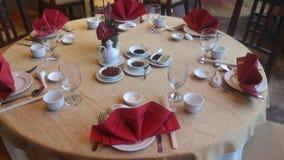 Chinese fijne dinning opstelling Royalty-vrije Stock Fotografie