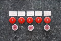 Chinese Fire Alarm Bells Stock Images