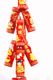 Chinese fire crackers Royalty Free Stock Photos