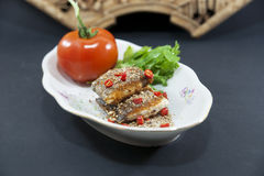 Chinese fish dish Stock Photo