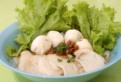 Chinese Fishball Rice Noodles Stock Image