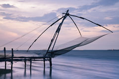Chinese Fishing Net Fort Cochin stock photo