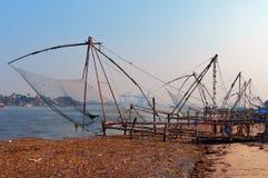 Chinese Fishing nets Stock Image