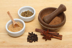 Chinese Five Spice Stock Image