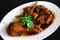 Chinese Five Spiced stewed duck Stock Photos