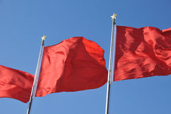 Chinese flag Royalty Free Stock Photo