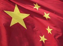Chinese Flag Royalty Free Stock Images