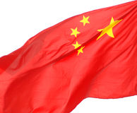The Chinese flag Stock Photos