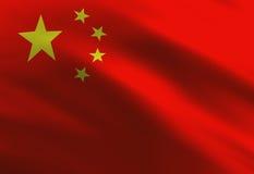 Chinese flag Royalty Free Stock Photo