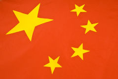 Chinese Flag Series Royalty Free Stock Photos