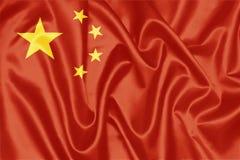 China Flag royalty free stock photos