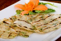 Chinese Flat Bread Royalty Free Stock Image