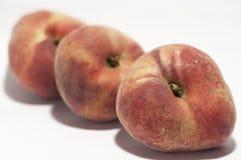 Chinese flat donut peaches Stock Photo