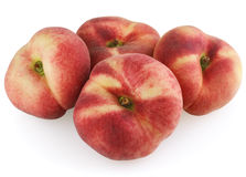 Chinese flat peaches Stock Images