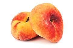 Chinese flat peaches Stock Photo