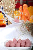 Chinese flavor of Prawn meat ball Stock Images