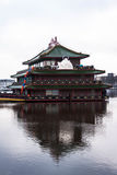 Chinese Floating Restaurant Stock Photography