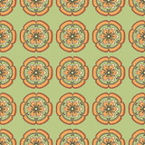 Chinese flower pattern Color. Elegant Royalty Free Stock Photos