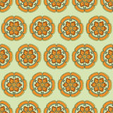 Chinese flower pattern Color. Elegant Stock Photos