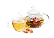 Chinese flowering tea Stock Images